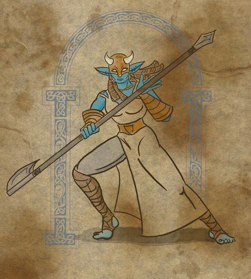 Trollish Battlemaiden